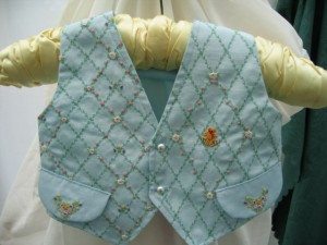 this beautiful one off waist coat is perfect for your little prince to dazzle them all at any special occasion
