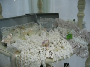 these beautiful and different unique hand made garters will have your partners falling over with love